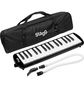 Stagg Melodica - 32 Key Black