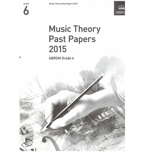 ABRSM Theory Of Music Exam Past Paper 2015 - Various Grades