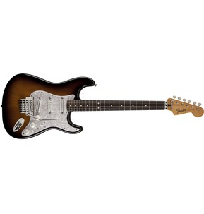 Fender Dave Murray Stratocaster, 2-Colour Sunburst, Rosewood