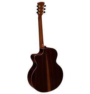 Faith FJCEHG Hi-Gloss Jupiter Cutaway Electro Acoustic Guitar & Hard Case