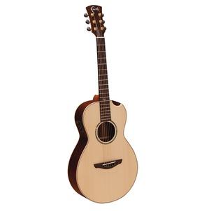 Faith FMEHG-BNC Hi-Gloss Mercury Scoop Electro Acoustic Guitar & Hard Case