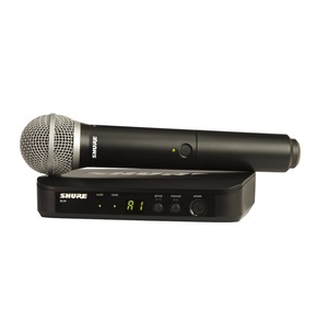 Shure BLX24UK/PG58 Analog Wireless Microphone Kit