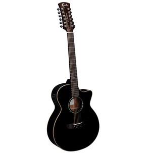 Faith FECV12 Eclipse Venus 12-String Cutaway Electro Acoustic Guitar & Hard Case