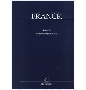Cesar Franck Sonata in A major arranged for Flute & Piano
