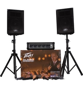 Peavey Audio Performer Pack - Complete PA System Package