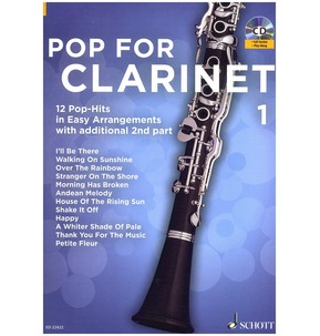 Pop For Clarinet Book 1