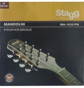 Stagg Budget Mandolin Set Phosphor