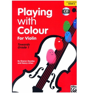 Playing With Colour for Violin Book 3