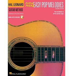 Even More Easy Pop Melodies - Second Edition (Book/CD)