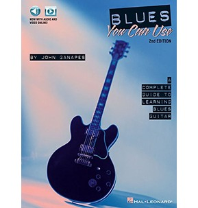 Blues You Can Use 2nd Edition Book/Audio access (Hal Leonard)