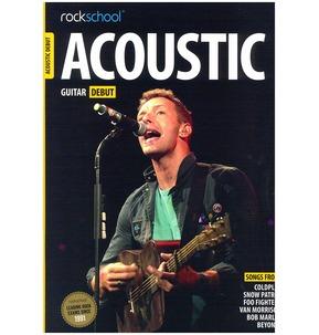 Rockschool Acoustic Guitar - Debut (2016) (Book/Online Audio)