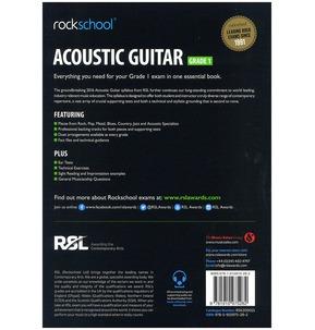 Rockschool Acoustic Guitar - Grade 1 (2016) (Book/Online Audio)