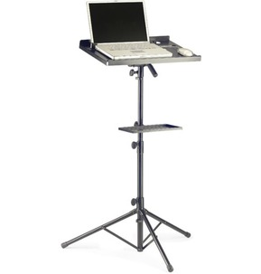 Stagg Laptop Stand with Extra Shelf
