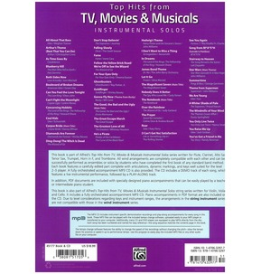 Top Hits from TV, Movies & Musicals Instrumental Solos (Trumpet)