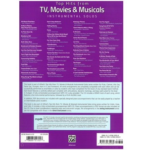 Top Hits from TV, Movies & Musicals Instrumental Solos (Flute)