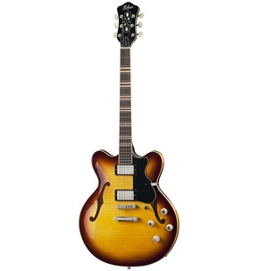 Hofner HCT Verythin Hollow Body Electric Guitar - Sunburst