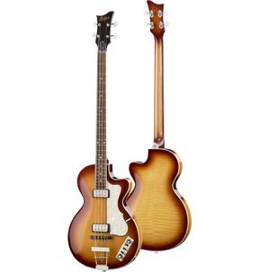 Hofner HCT Club Bass Guitar - Sunburst