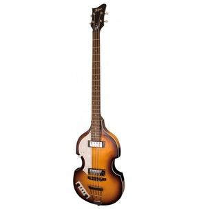 Hofner Ignition Violin Hollow Body Bass Guitar Left-Handed