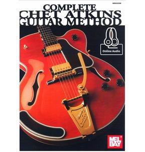 Mel Bay's Complete Chet Atkins Guitar Method Book Online Audio