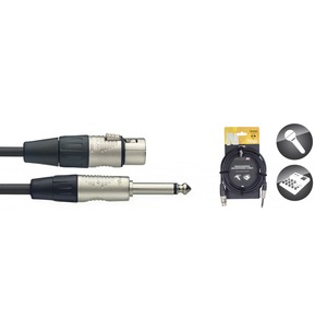 Stagg NMC Professional Mic cable XLR-Jack N-Type Plugs