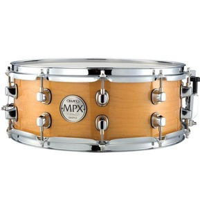 Mapex MPX Maple 14X5.5 Snare Natural Finish