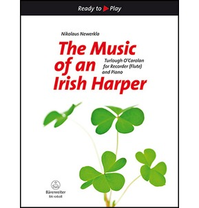The Music of An Irish Harper for Recorder (Flute) & Piano (Barenreiter)