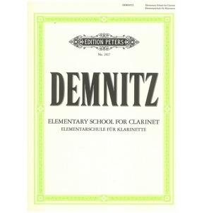 Elementary Clarinet Tutor Friedrich Demnitz