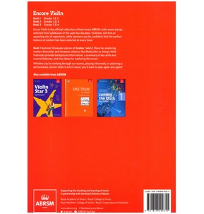 ABRSM: Encore - Violin: Book 1, Grades 1 & 2