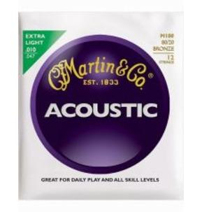 Martin M180 12-String Bronze Extra Light
