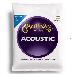 Martin 80/20 Bronze Acoustic Guitar Strings Medium Set