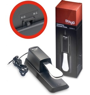 Stagg Sustain Pedal all Makes Piano Type