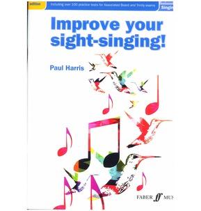 Paul Harris: Improve Your Sight-Singing! Grades 1-3 (New Edition)