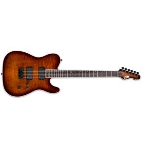 ESP LTD TE-401FM Dark Brown Sunburst Satin Electric Guitar B-Stock