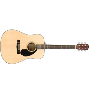 Fender CD-60S Acoustic Guitar, Natural, Walnut
