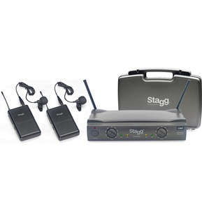 Stagg SUW50 Wireless Double Lavalier Microphones