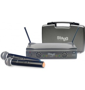 Stagg SUW50 Wireless Double Microphones