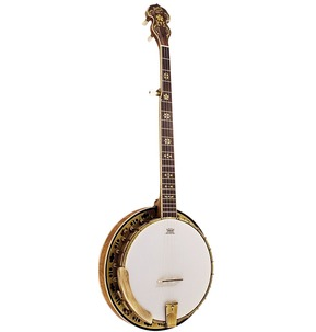 Barnes and Mullins Banjo 5 String Troubadour Model
