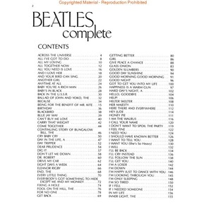 The Beatles Complete (Easy Guitar)