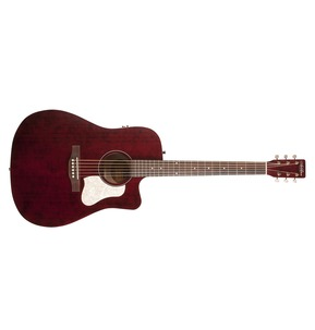 Art & Lutherie Americana CW Electro Acoustic Guitar - Tennessee Red