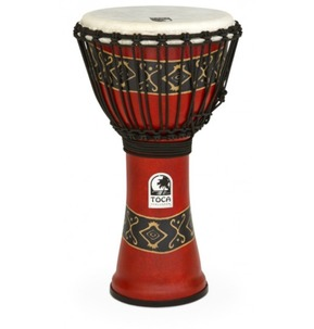 Toca SFDJ Freestyle Djembe in Red