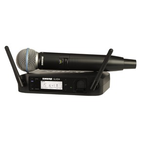Shure GLXD24/Beta58A Digital Wireless System With Beta 58A Vocal Microphone