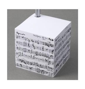 Mozart Manuscript Telephone Cube Pad