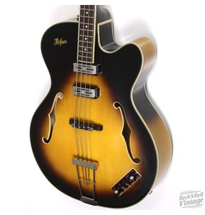 Hofner President Hoolow Body Electric Bass Guitar CT