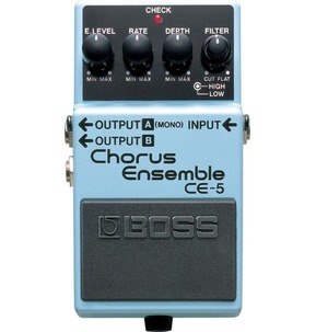 Boss CE-5 Chorus Ensemble Compact Guitar Effects Pedal B-Stock