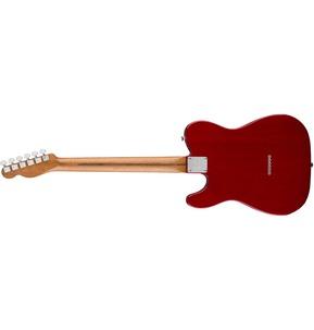 Fender American Professional Mahogany Tele Deluxe, Crimson Red Trans, Rosewood