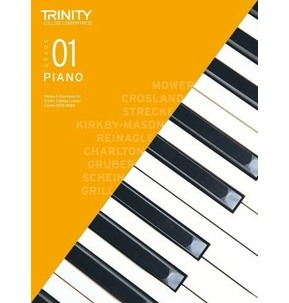 Trinity Guildhall Piano Grade 1 Pieces & Exercises Graded Books 2018-2020 (without CD)