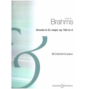 Brahms Sonata Opus 120 No 2 - Clarinet and Piano