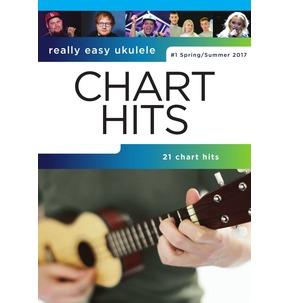 Really Easy Ukulele Chart Hits #4 (Spring/Summer 2017)
