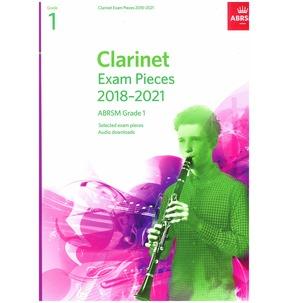 Clarinet Exam Pieces 2018-2021, ABRSM - Various Grades