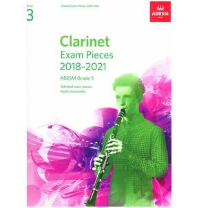 Clarinet Exam Pieces 2018-2021, ABRSM Grade 3